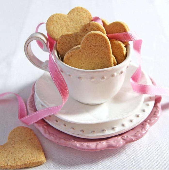 ricetta di cuori biscotti con foto