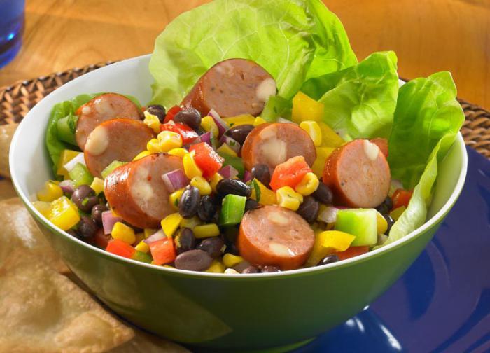 insalate nutrienti leggere