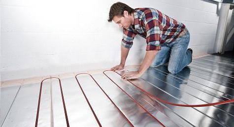 подгряване на пода за отопление