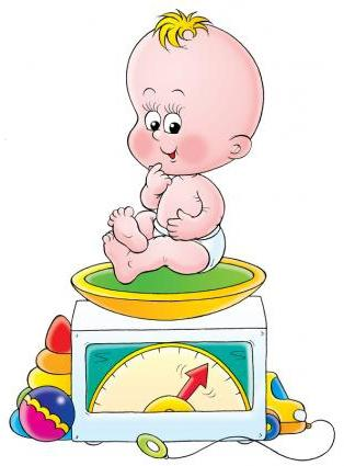 tabella di crescita del peso del bambino