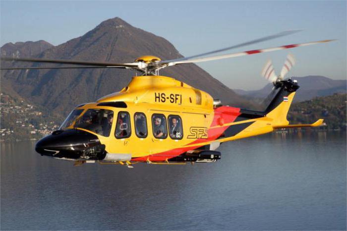 rychlost vrtulníku za hodinu