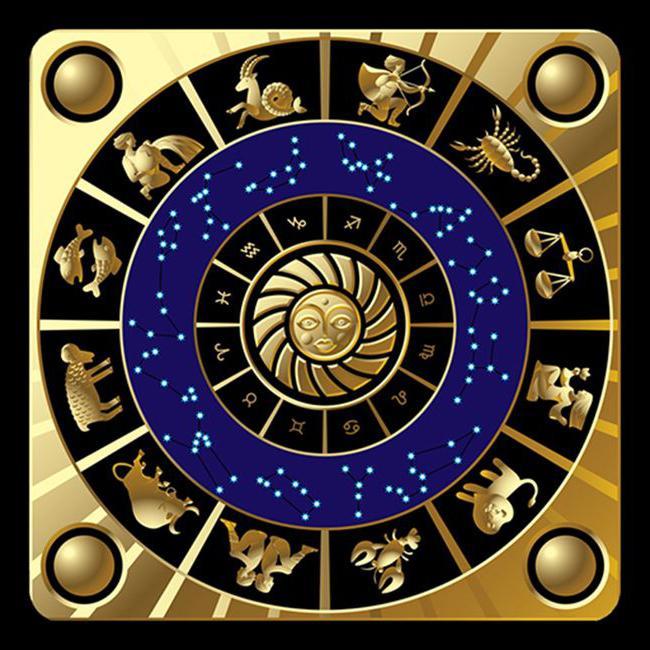 Segno zodiacale delle proprietà di pietra dell'ematite