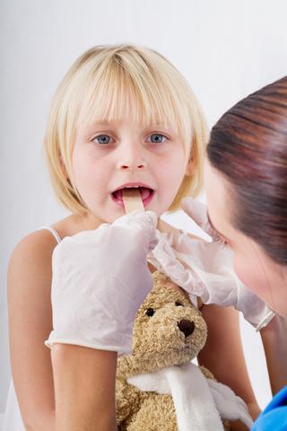 херпес възпалено гърло при деца