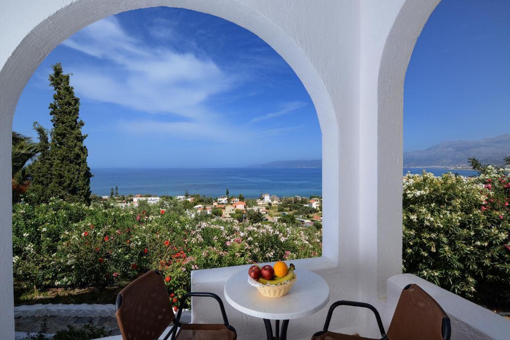 Villaggio di Hersonissos in Grecia