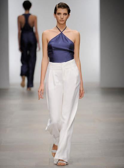 ženske hlače s visokim strukom
