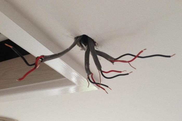 illuminazione nicchia soffitto