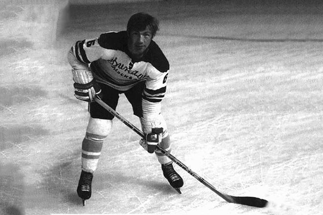 Kharlamov Valery giocatore di hockey