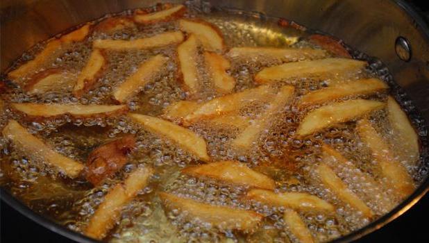 пържени картофи у дома