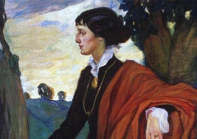 analýza básně Akhmatova rodné půdy podle plánu