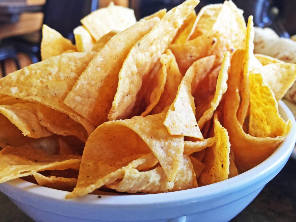 Веома укусни домаћи чипови.