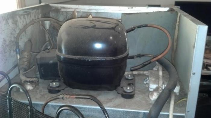 domowy kompresor z lodówki