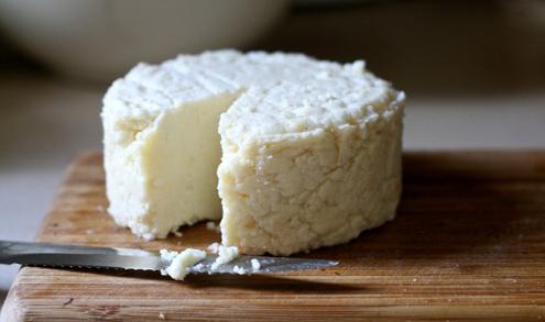 formaggio fatto in casa dal latte