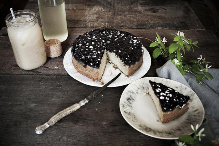 zimolezová vrstva koláče