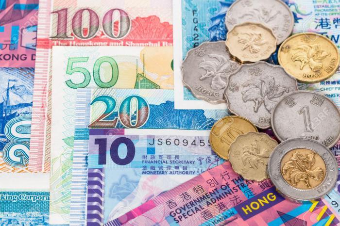 foto del dollaro di Hong Kong