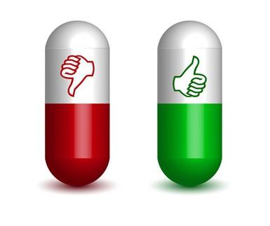 stranski učinki hormonskih zdravil