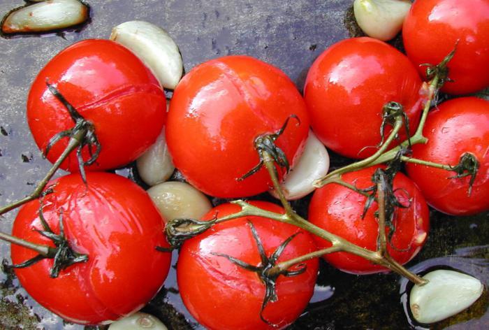 come mettere sotto pomodori per l'inverno
