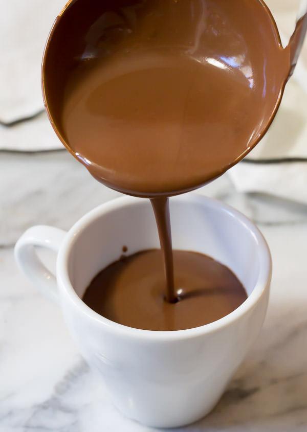 рецепта за горещ шоколад у дома