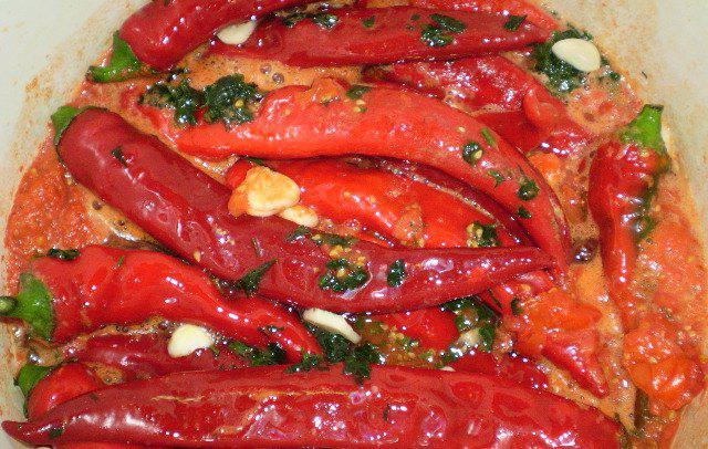рецепти за горещи пиперки