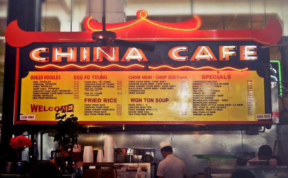 caffè in Cina