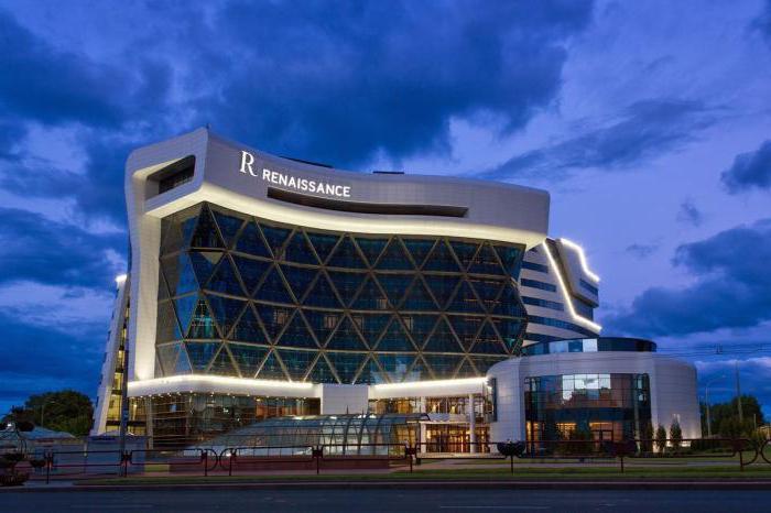 ренесанса хотела у рејтингу Минска