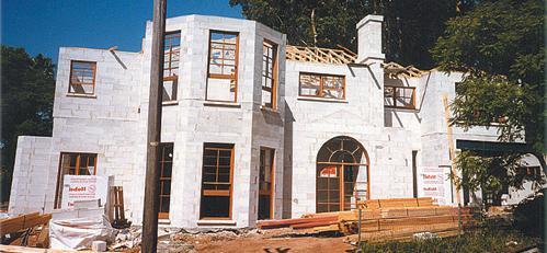 budowa domu bloków silikatowych gazowych