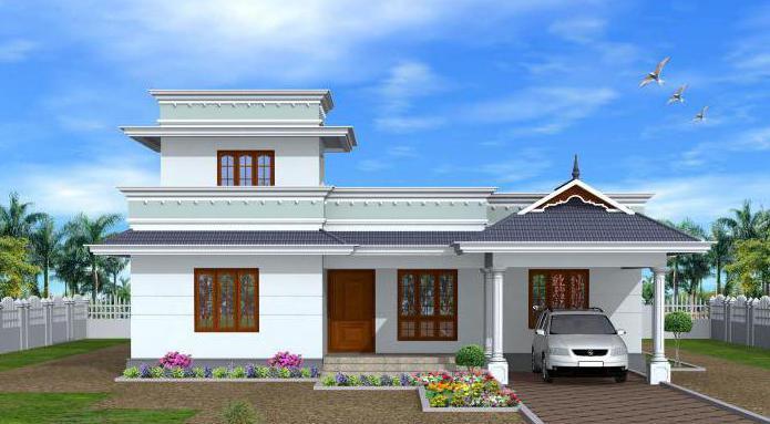 jednokatna kuća 10 na 10 pjenastog bloka