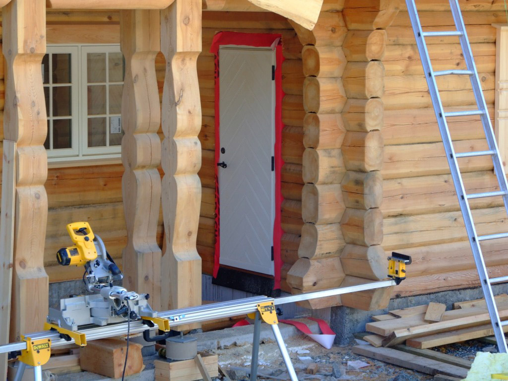 Izgradnja kuće iz kočije