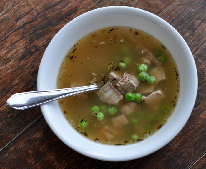 zuppa di maiale
