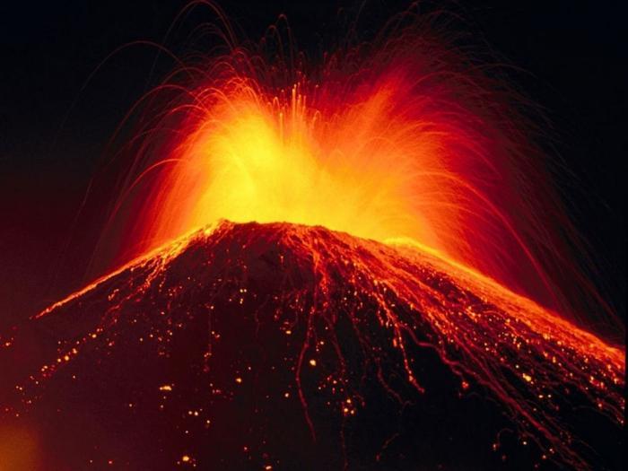 вулканска ерупција