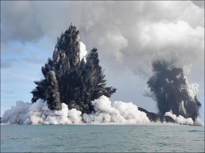skutki erupcji wulkanicznych