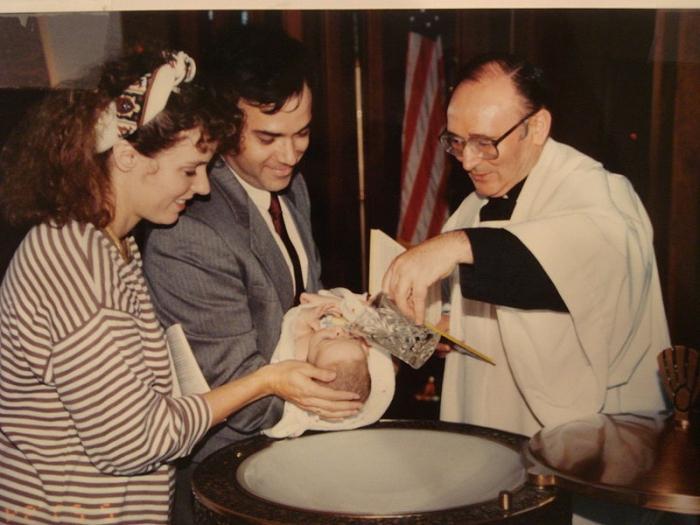 può incinte battezzare i bambini
