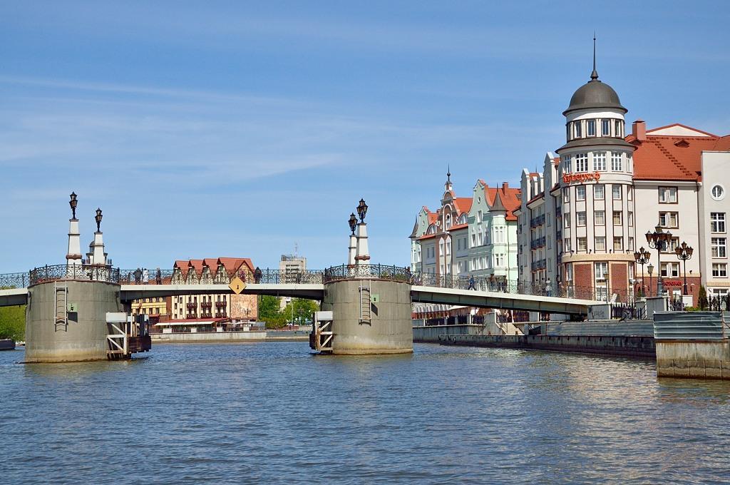 Most w Kaliningradzie