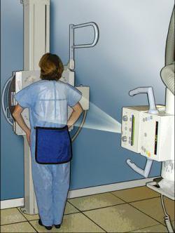 napraviti rendgenski snimak prsa