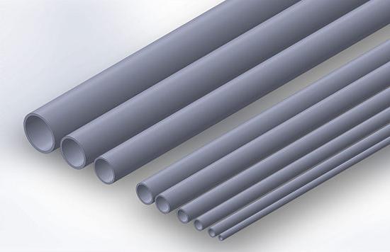 Диаметри на пластмасовите тръби