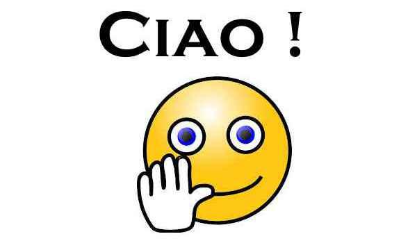 Najpogostejši pozdrav v Italiji