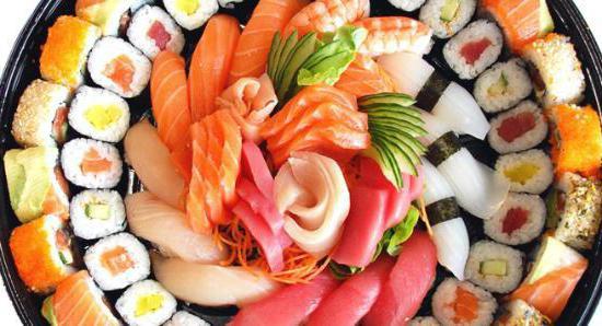koliko kalorija u sushi
