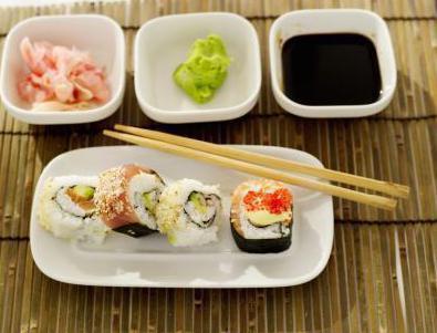 kalorija sushi california