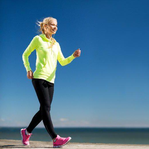 техника хода за мршављење
