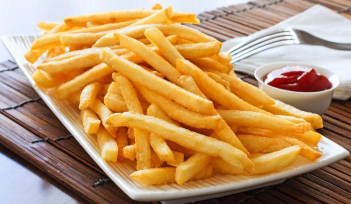 quante calorie in patatine fritte