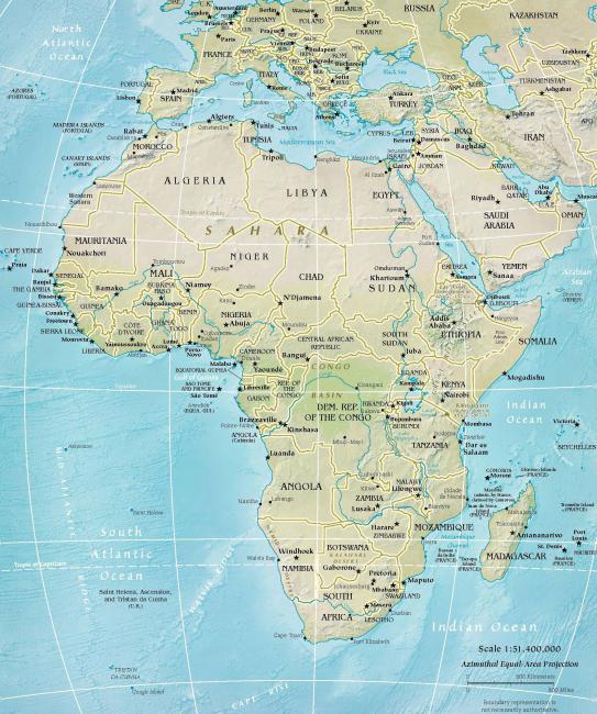 ile kontynentów na ziemi