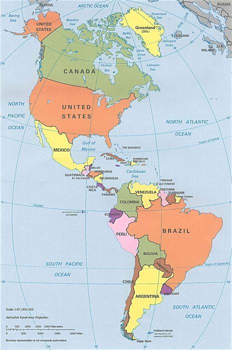 ile kontynentów na ziemi i częściach świata