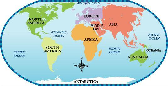 ile kontynentów na ziemi i jak są nazywane