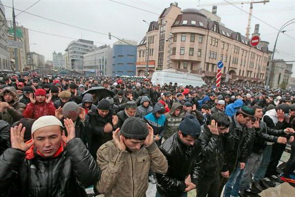 koliko je ruskih muslimana u Rusiji