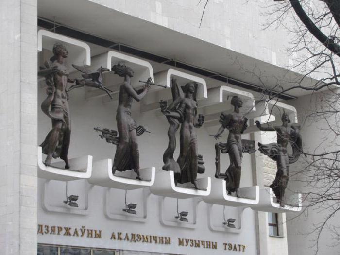 repertorio del teatro della commedia musicale a Minsk