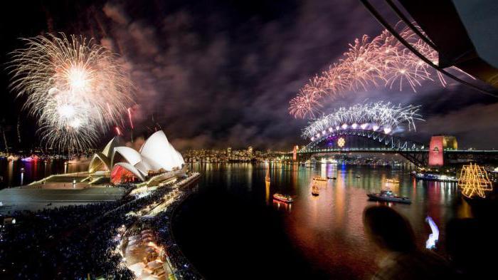как да празнуваме новата година в традицията на Австралия