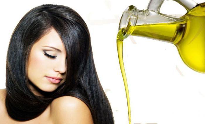 olio di bardana applicato sui capelli asciutti