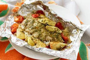 пилетина печурка кромпир у рерни