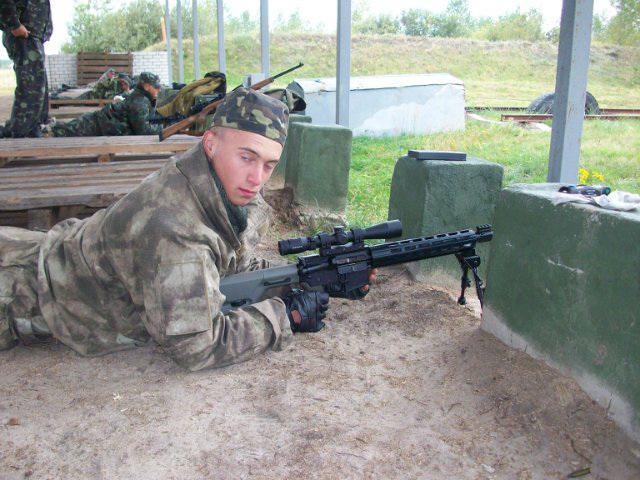 jak zostać snajperem w armii Rosji
