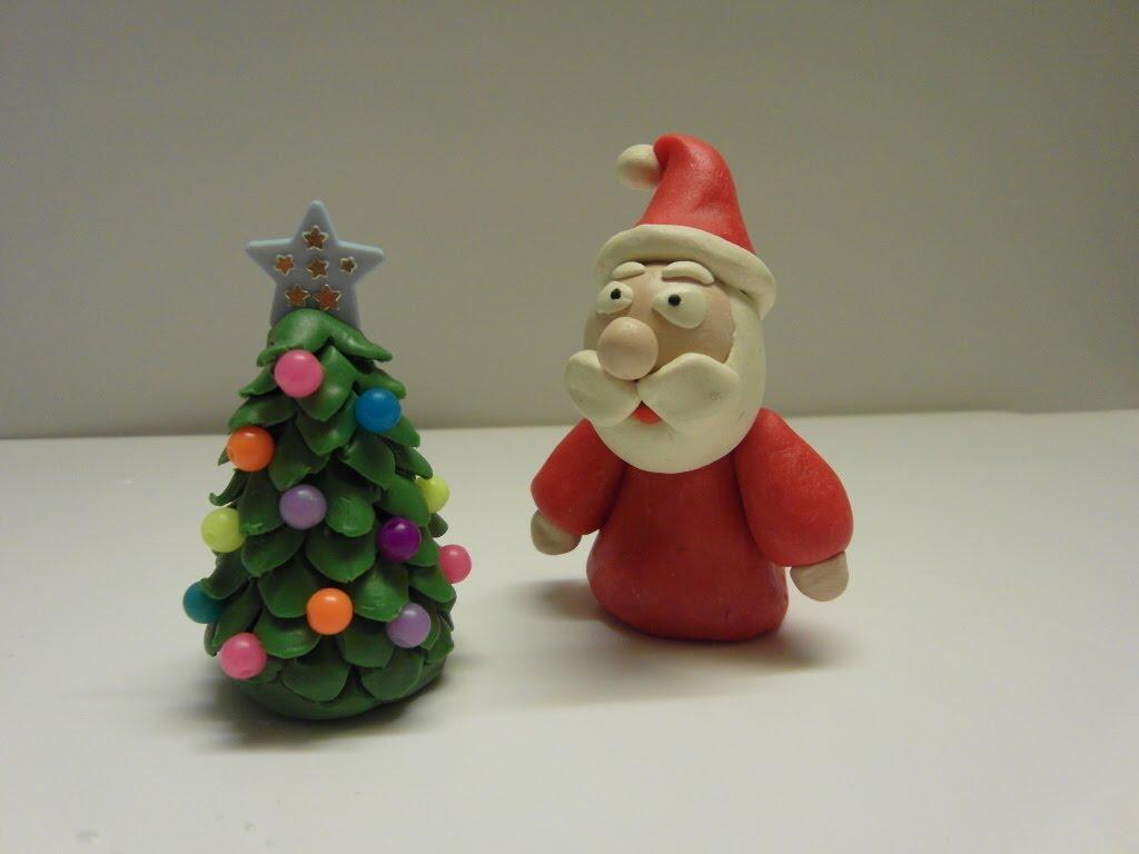 Božiček in božično drevo