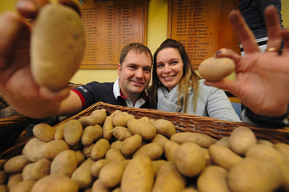 preparazione di patate per inalazione